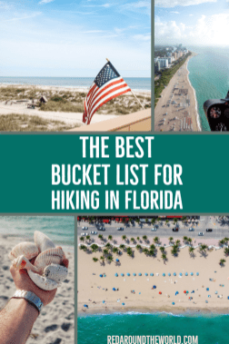 This is the best Florida bucket list for outdoor lovers. You'll find some of the best Florida State Parks and lesser known outdoor areas in Florida. Florida hikes, florida vacation, florida things to do, florida hiking, miami things to do, everglades things to do, florida road trip, everglades vacation, biscayne national park, dry tortugas national park, florida state parks, florida beaches