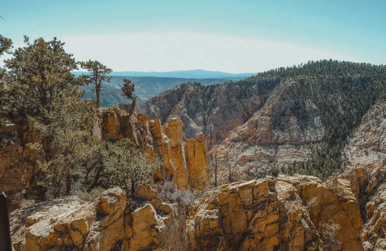 Hells backbone drive Boulder Utah