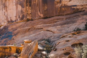 petroglyphs in moab utah