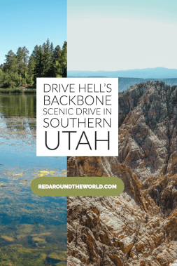 Hells Backbone Scenic Drive in Boulder, Utah is a great way to get from Boulder to Escalante if you want a change of scenery. Camp at Posey Lake or Pine Creek. Utah travel | Utah vacation | Utah hiking | Utah things to do | Utah road trip | Utah national parks | Utah national parks road trip | Utah scenic drives
