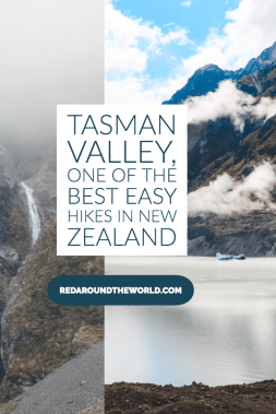 The Blue Lakes and Tasman Glacier walks are one of the best easy hikes on New Zealand's south island. It is a must on a New Zealand road trip. New Zealand travel | New Zealand south island | New Zealand vacation | New Zealand things to do | New zealand hikes | New zealand easy hikes | tasman valley | tasman glacier #newzealand #roadtrip #hiking