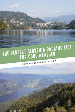 If you're planning a trip to Slovenia, this is the perfect packing list for you. Slovenia | Slovenia packing | Slovenia packing list | Slovenia travel | Slovenia vacation | Europe packing | Europe Packing list | Europe packing list fall #slovenia #europe #packinglist