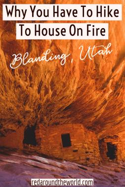 The hike to House on Fire in mule Canyon along Highway 95 is an easy morning hike to unique ruins on Cedar Mesa near Blanding, Utah. Utah national parks | Utah road trip | hiking in Utah | best things to do in Utah | Utah hikes | Utah road trip itinerary | national parks in Utah | hiking in utah | best hikes in utah | house on fire hike | hikes to ruins in utah | coolest hikes in utah