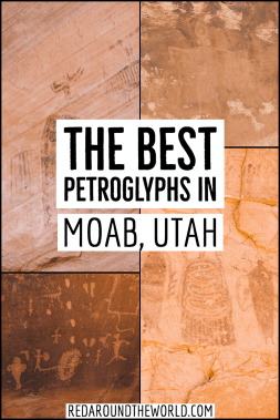 These are some of the best petroglyphs in Moab that are perfect as part of any Utah road trip. They are easy to get to and great for families. Utah national parks | Utah road trip | hiking in Utah | best things to do in Utah | Utah hikes | Utah road trip itinerary | national parks in Utah| Utah rock art | utah petroglyphs | moab utah | moab vacation | moab things to do | moab utah vacation | moab utah hiking | moab hikes