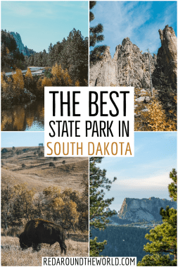 There are so many things to do in Custer State Park like hiking, wildlife spotting, rock climbing and scenic driving. It's the best state park in South Dakota. South dakota road trip | south dakota state parks | south dakota hiking | black hills road trip | hikes in the black hills | scenic drives in the black hills | scenic drives in south dakota | custer state park | custer state park hikes | custer state park south dakota