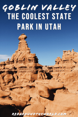 Goblin Valley State Park is the coolest state park in Utah. It's a great stop on a utah road trip and fun for the whole family. Utah state parks | Utah hikes | Utah hiking | Utah things to do | utah vacation | Utah travel | utah road trip ideas | goblin valley utah | goblin valley state park | state parks in utah | coolest hikes in utah | utah national park road trip