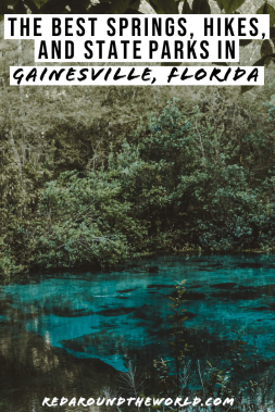 These are the best trails in Gainesville, Florida. If you want to get outside, check out these trails, springs, and state parks. Florida springs | Florida hikes | florida hiking | florida things to do | florida road trip | florida vacation | gainesville florida | florida state parks
