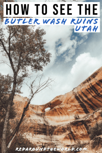 The Butler Wash Ruins are easily accessible cliff dwelling ruins in Southern Utah along highway 95. They make a great day trip from Blanding, Utah. Utah road trip | hiking in Utah | best things to do in Utah | Utah hikes | Utah road trip itinerary | ruins in utah | utah ruins | easy hikes in utah | utah travel | utah vacation | anasazi ruins