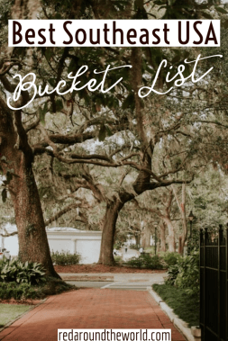 This is the best southeast USA bucket list for hikers. It's got the best hikes in the southeast including South Carolina, Tennessee, Kentucky, and Georgia. Southeast us bucket list | southeast USA bucket list | Georgia bucket list | south Carolina bucket list | Tennessee bucket list | Tennessee hikes | southeast USA hikes | southeast USA waterfalls | Tennessee waterfalls
