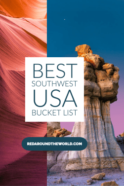 This is the best southwest USA bucket list for people that love hiking, the outdoors, and road trips. Hike in Arizona, New Mexico, Nevada, and Texas. USA road trip | US national parks | Southwest USA | Southwest us road trip | USA bucket list | southwest USA bucket list | Arizona bucket list | New Mexico bucket list | Texas bucket list | Nevada bucket list | Arizona hikes | New Mexico hikes | Nevada hikes | Texas hikes