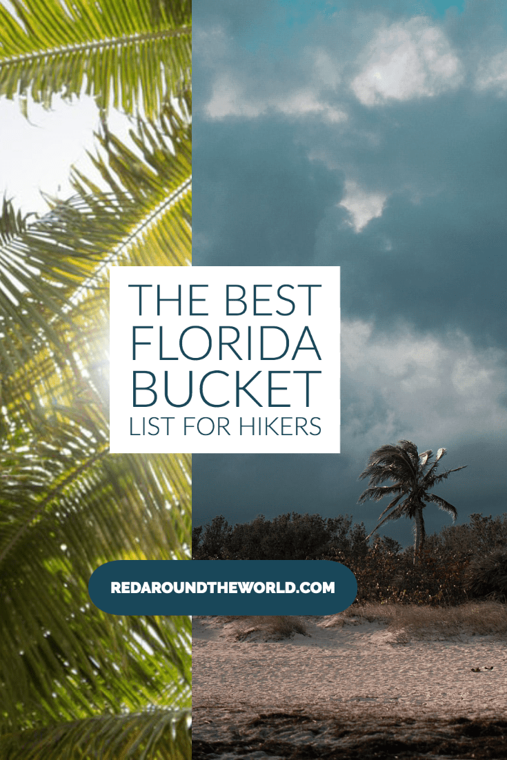 This is the best Florida bucket list for outdoor lovers. You'll find some of the best Florida State Parks and lesser-known outdoor areas in Florida. Florida bucket list | florida hikes | hiking in florida | florida vacation | florida road trip | florida things to do | florida hiking | bucket list for florida | best things to do in Florida | florida places to go | beaches in florida | shelling in Florida