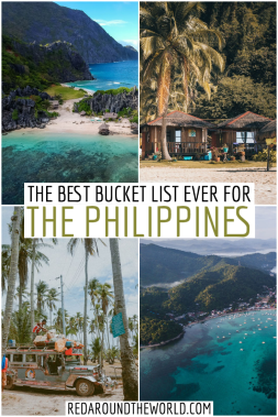 This Philippines bucket list will help you plan your dream trip there. If you need Philippines bucket list inspiration, look no further. Bucket list Philippines | Philippines bucket list | Philippines beaches | Philippines vacation | Philippines travel | Philippines travel places to visit | Philippines beautiful places | backpacking Philippines