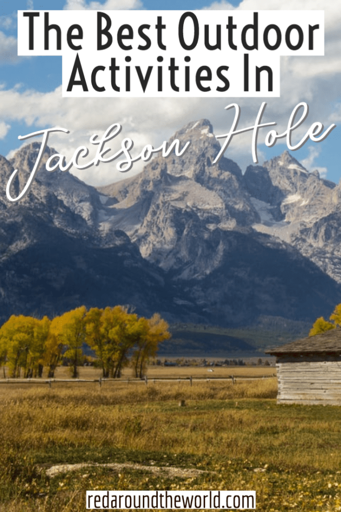 Jackson Hole is an outdoor lovers paradise. From hiking to skiing and rafting to horseback riding, you can do it all in Jackson. Jackson things to do | Jackson Wyoming | Jackson Hole vacation | Jackson hole travel | Jackson hole things to do | Hiking Jackson hole | Hiking Jackson Wyoming | Jackson hole hiking | Grand teton hiking | Grand teton things to do