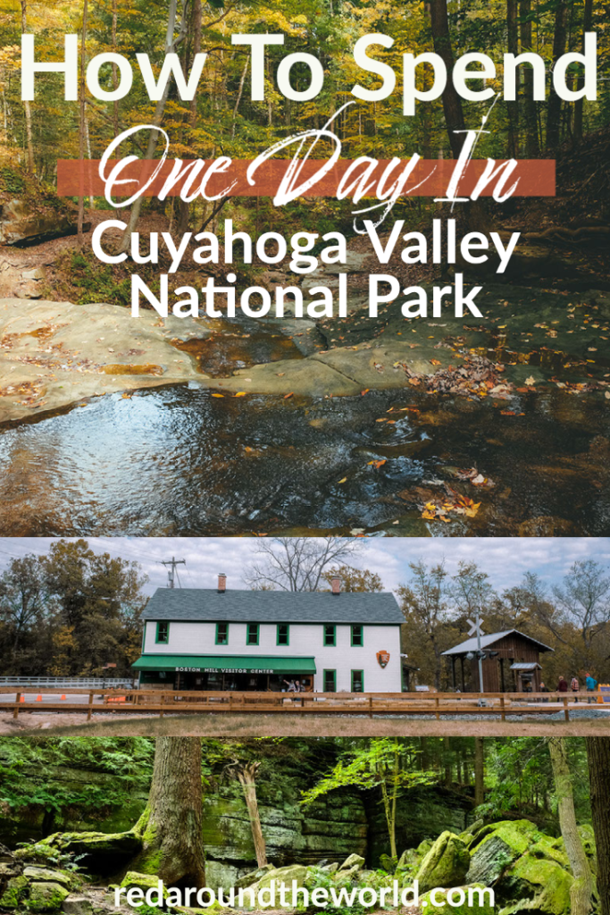 One day in Cuyahoga Valley National Park is plenty of time to get a taste of what this Ohio national park has to offer whether you like hiking or not. cuyahoga valley national park | cuyahoga national park | cuyahoga valley national park hiking | cuyahoga valley national park things to do | ohio travel | ohio vacation | cuyahoga valley things to do | cuyahoga valley national park in fall | one day in cuyahoga valley national park