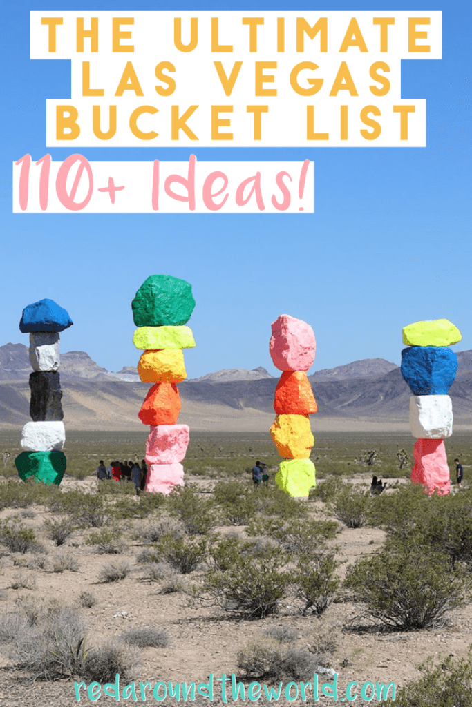 This is the Ultimate Las Vegas bucket list to help you plan the best trip ever whether you want a classic Vegas trip or something a little different. Las vegas bucket list | vegas bucket list | las vegas things to do in | las vegas vacation | Las vegas trip planning | vegas things to do | vegas bucket list