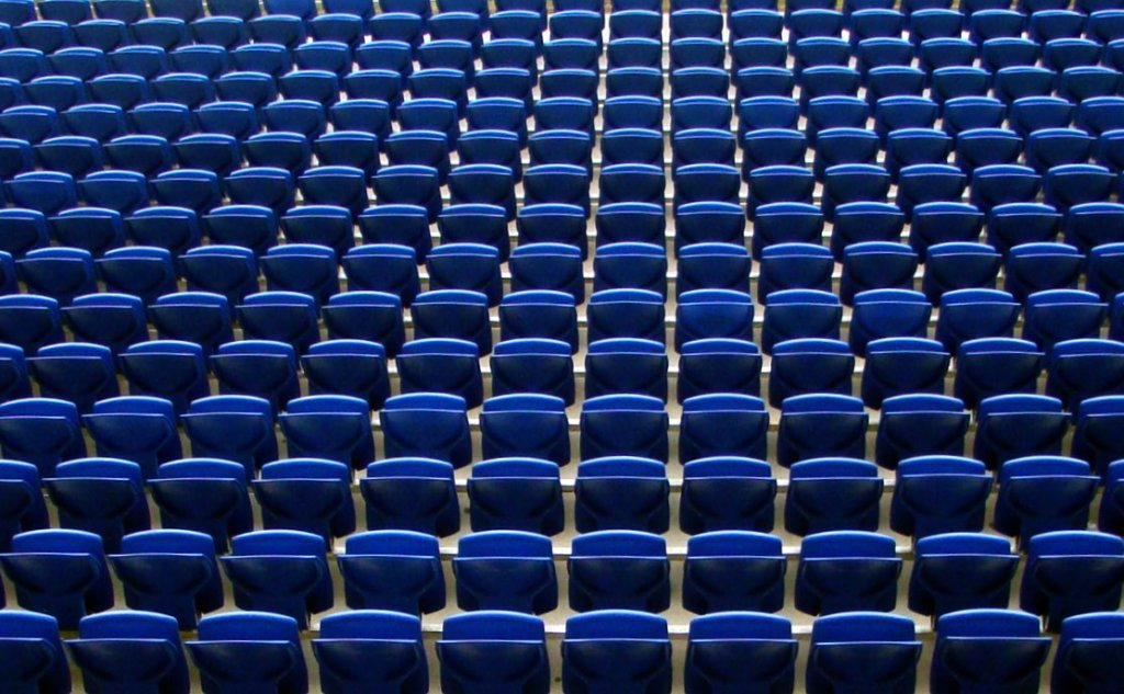 Empty Seats (Jon Candy/flickr.com)