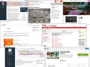Some of the transmissive online courses around Ebola