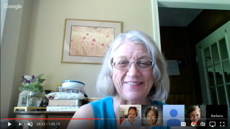 Google Hangout with the #DigitalScholar Team