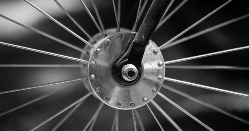 Hub and spokes by Robert Couse-Baker