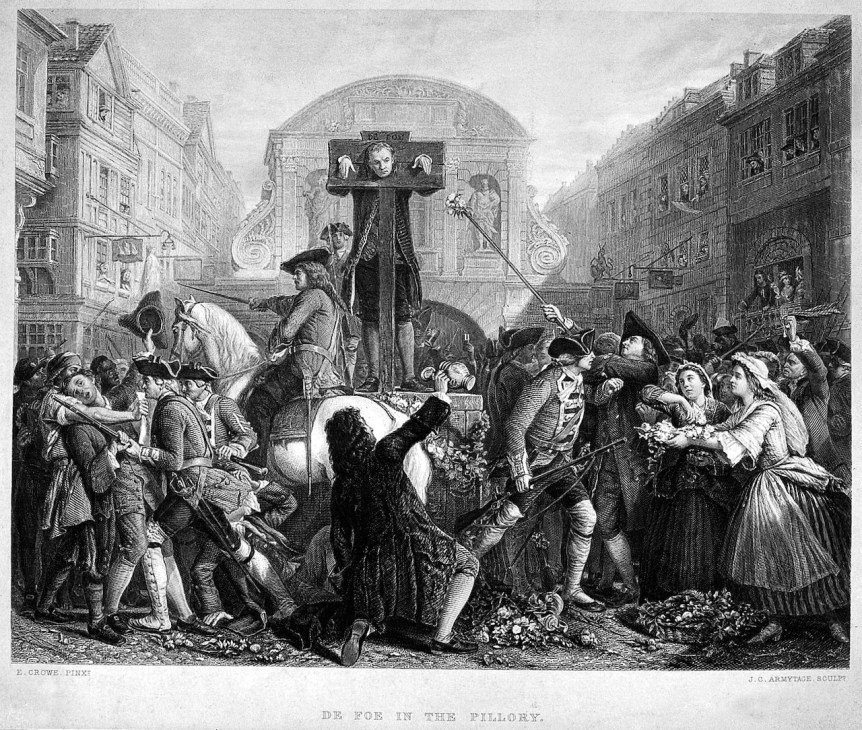 Defoe in the Pillory