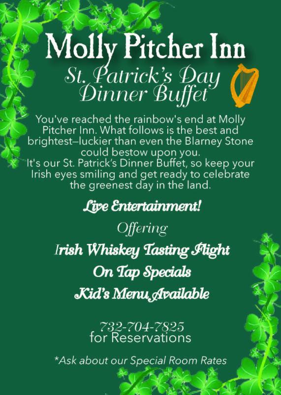 Molly Pitcher St Patrick's Day