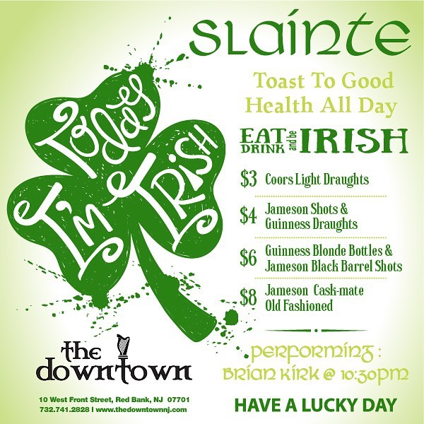 The Downtown St Patrick's Day