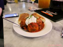 Urban Coalhouse Sangria Meatballs Spinach Pizza 10 of 17