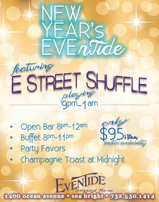 Eventide Grille New Year's Eve