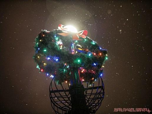 Red Bank Snow Snowfall Holiday Lights 3 of 8