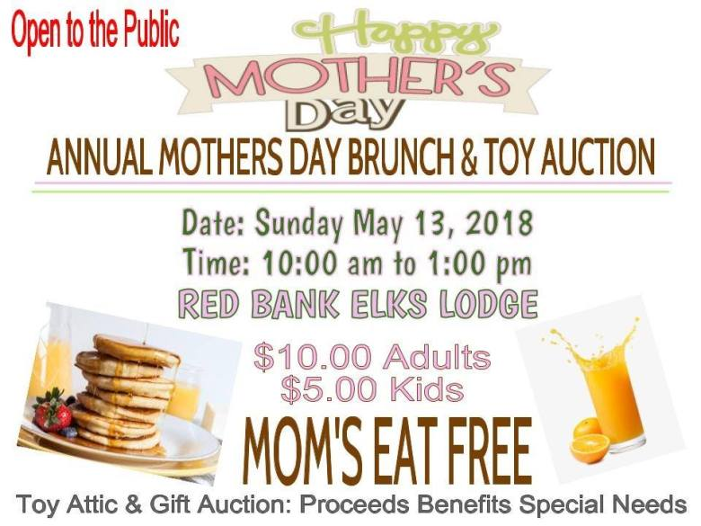 Red Bank Elk Lodge Mother's Day