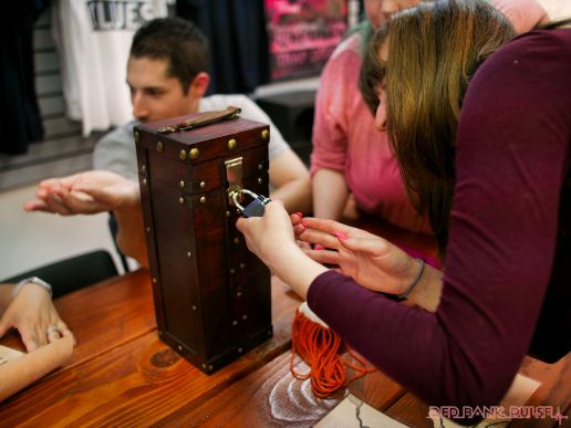 Trap Door Escape Room Puzzles and Corks 23 of 39