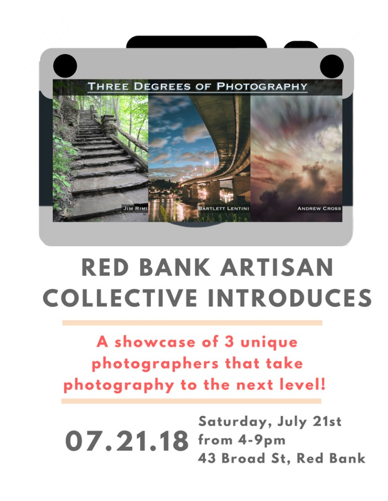 3 Degrees of Photography Email invite