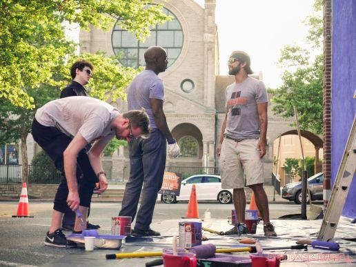 3rd annual community mural painting Indie Street Film Festival 22 of 36