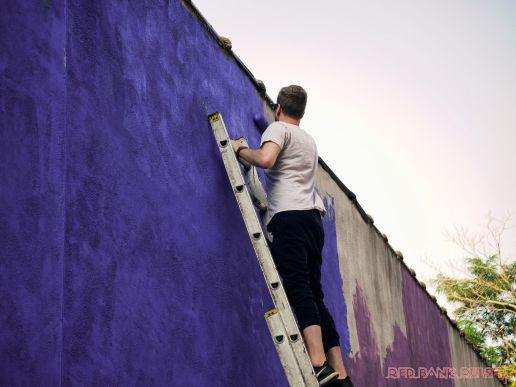 3rd annual community mural painting Indie Street Film Festival 28 of 36