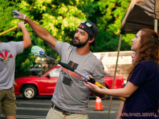 3rd annual community mural painting Indie Street Film Festival 7 of 36