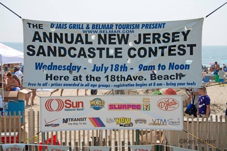NJ Sandcastle contest