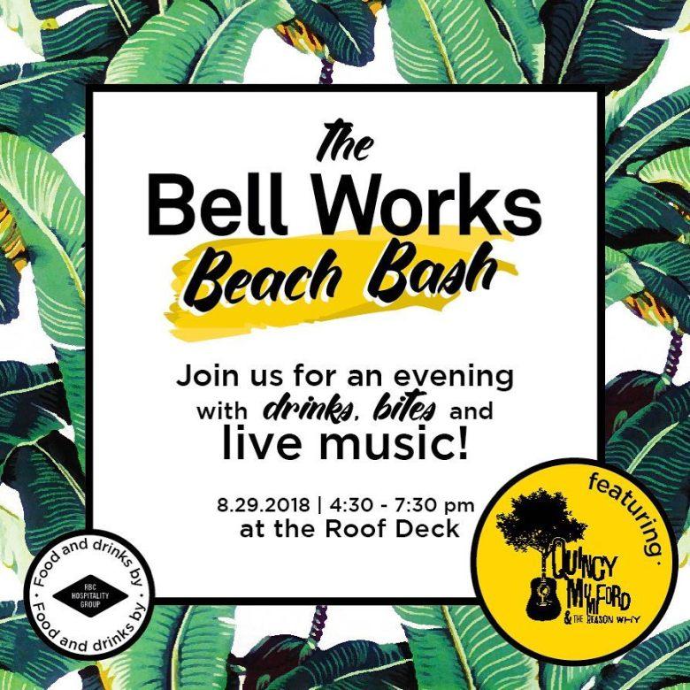 Bell works beach bash