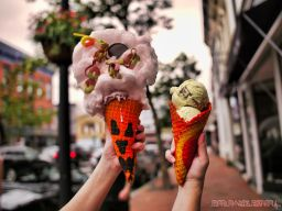 Coney Waffle Red Bank National Ice Cream Cone Day 13 of 49