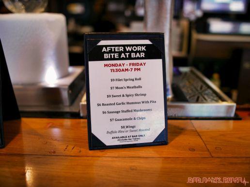 Danny's Steakhouse Happy Hour Menu October 2018 1 of 4