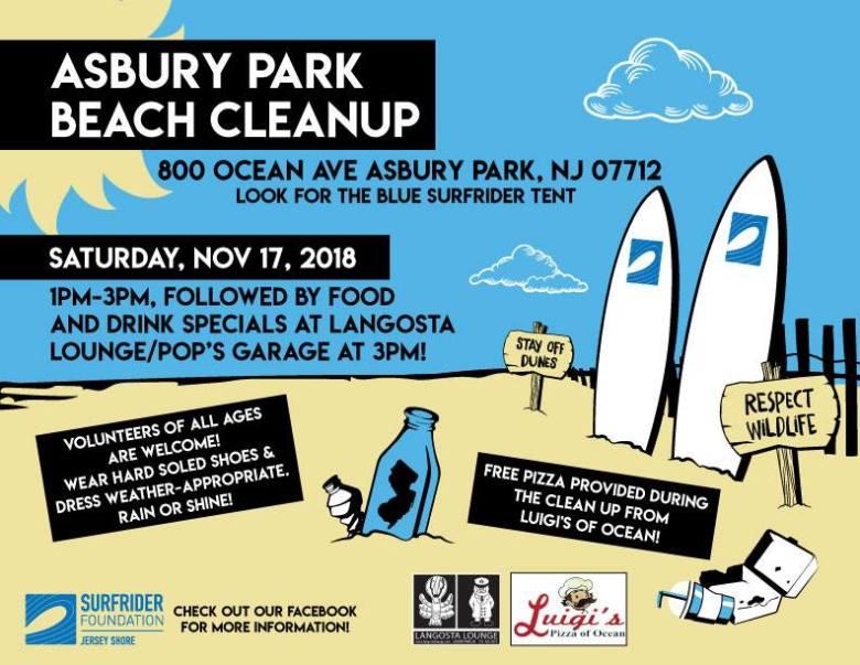 Asbury Park Beach Cleanup