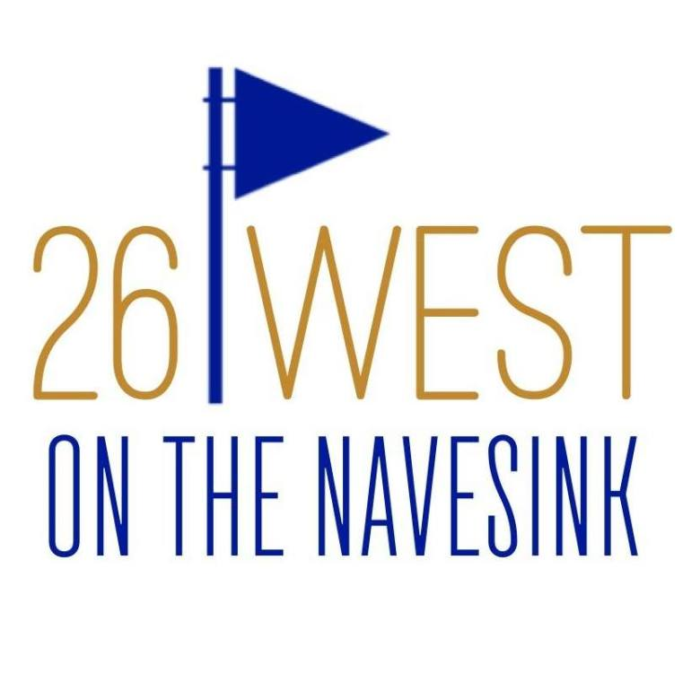 26 West on the Navesink logo