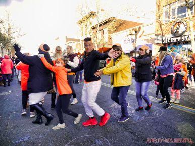Life Vest Inside flash mob dancing World Kindness Day 110 of 117