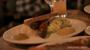 Asbury Festhalle & Biergarten pop-up market & half price menu night 1 of 151 sausage bratwurst