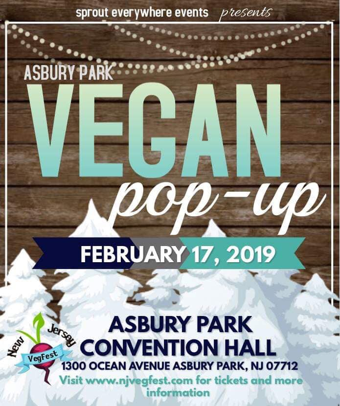 asbury park vegan pop up february 17 snow ball at the shore