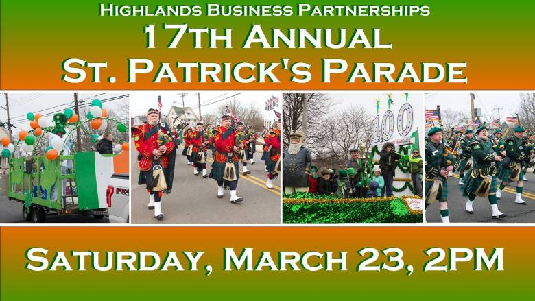 17th Annual Highlands St. Patrick's Day Parade