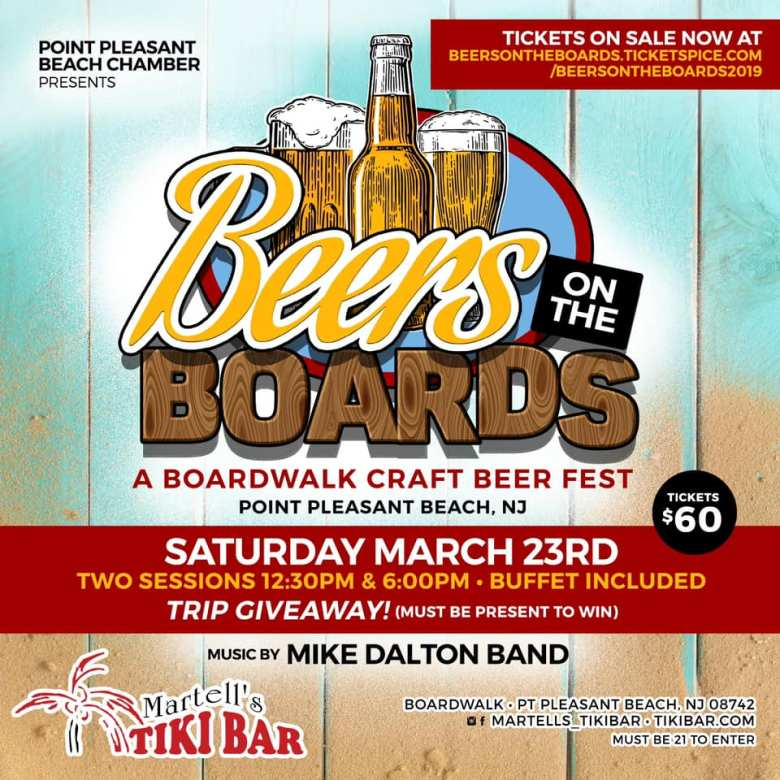 Beers on the Boards 2019