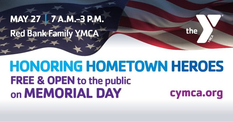 Free & Open on Memorial Day YMCA