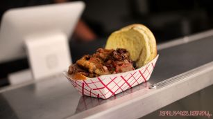 Middletown South Food Truck Festival 76 of 113 The Beaded One BBQ brisket sandwich