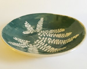 Maidenhair bowl