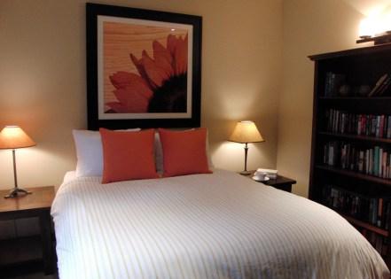 Mendocino Vacation Rental Red Barn Retreat Bedroom View